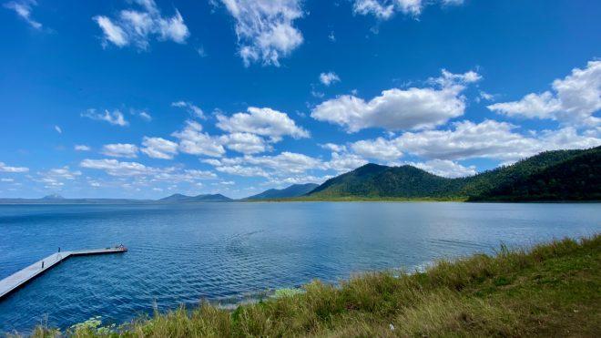 Lake Proserpine, such a pretty dam